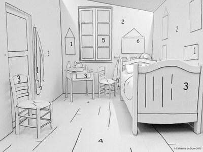 Van gogh en famille bam mons - La chambre a coucher van gogh ...